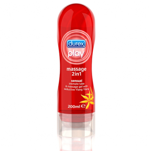 Lubrikant Durex Play Massage 2 u 1 Sensual 200 ml