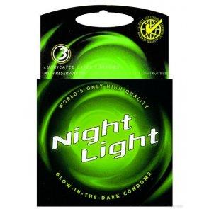 Love Light 3's - Svjetleći Kondomi