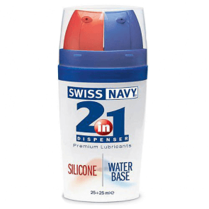 Lubrikant Swiss Navy 2 u 1 Premium 50 ml