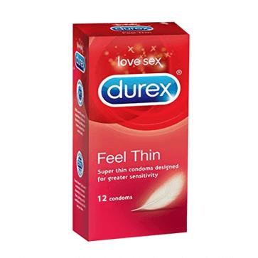 Durex Feel Thin 12's
